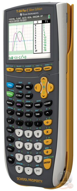 TI-84 Plus C Silver Edition EZ-SPOT frontSide HQ.png